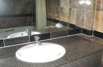 một góc toilet