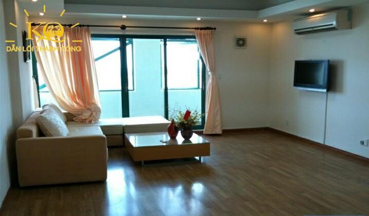 Cho thuê căn hộ indochina park tower dt: 114m2, 2pn